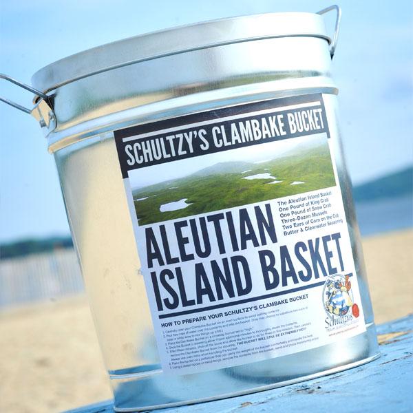 Aleutian Island Basket Schultzy Bucket