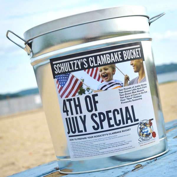 Schultzy's 4th of July Clambake Bucket