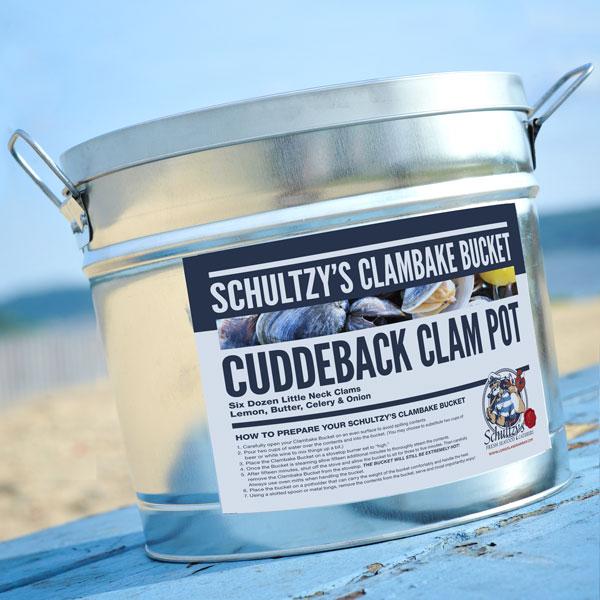 Schultzy's Cuddeback Clam Pot Clambake Bucket