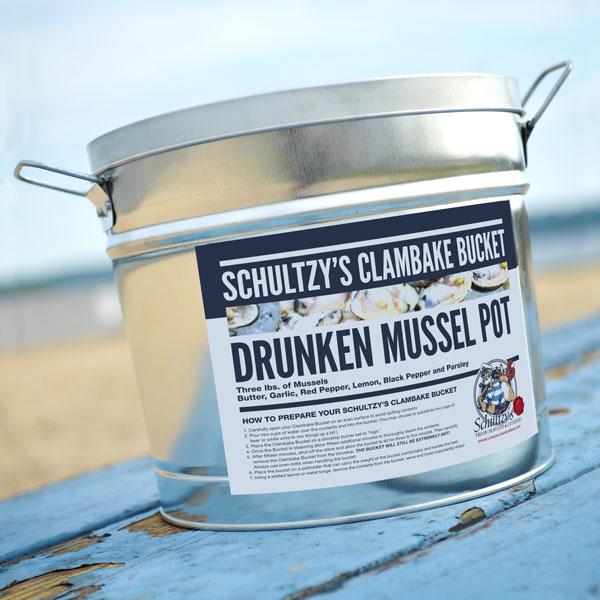 Schultzy's Drunken Mussel Pot Clambake Bucket