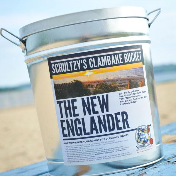 Schultzy's New Englander Clambake Bucket