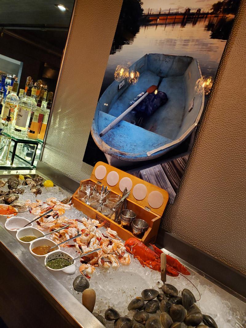 inside of schultzys restaurant raw bar